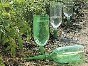 Бутылочная система полива
