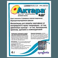 Как разводить средство от колорадского жука Актара?