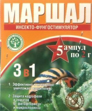 Маршал - действенный препарат против многих вредителей