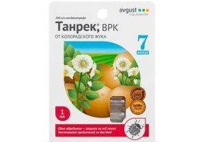 Одно из лучших средств против колорадского жука - препарат Танрек