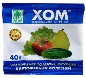 Опрыскивание картофеля препаратом Хом: методы использования