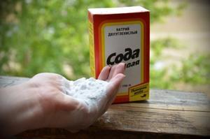 Пищевая сода против тли: способ применения