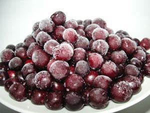 Какова калорийность вишни замороженной?