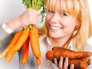 Подготовка моркови к вялению