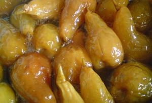 Рецепт приготовления груш в сиропе