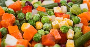 Рецепт заморозки овощей