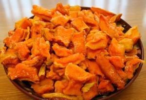 Вяленая морковь-рецепты