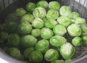 Бланшировка брюссельской капусты на заморозку