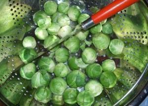 Где держать брюссельскую капусту?