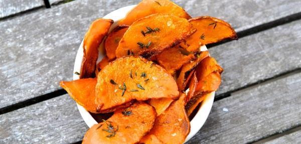 Тыквенные чипсы-рецепт