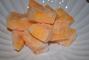 Заморозка тыквы в домашних условиях