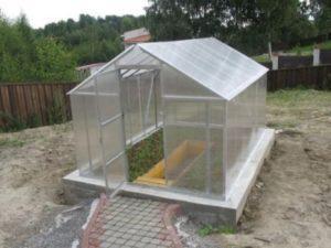 Теплицы из поликарбоната фундамент для теплиц