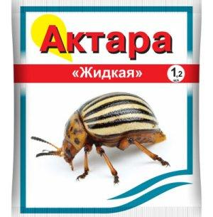 Препарат Актара - лучший яд от колорадского жука
