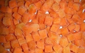 Замораживаем морковь на зиму