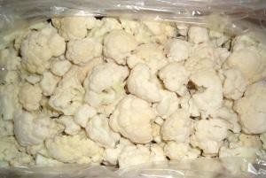 Заморозка цветной капусты