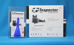 Инспектор капли от блох и клещей для кошек