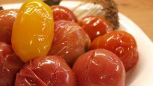 Как заквасить помидоры без уксуса