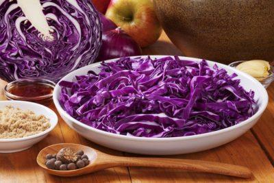 Фиолетовая капуста польза и вред для здоровья
