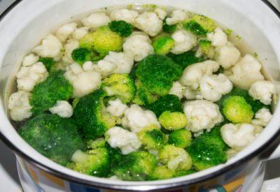Как правильно варить брокколи и цветную капусту