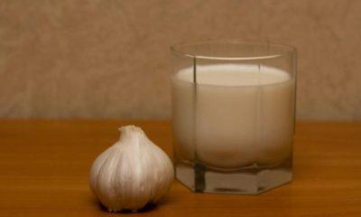 Молоко с чесноком от глистов и паразитов в организме, рецепты