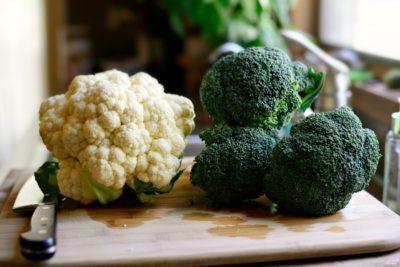 Как приготовить замороженные брокколи и цветную капусту