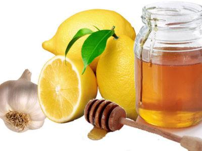 Напиток из яблочного уксуса, чеснока и меда
