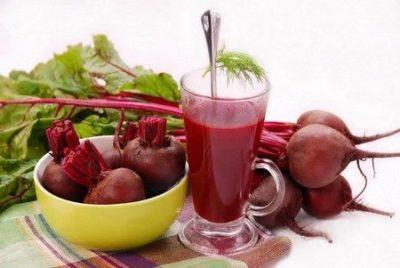 Свежевыжатый свекольный сок – его польза и свойства