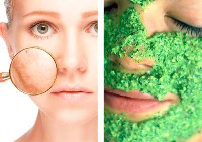 Отбеливающая маска для лица из петрушки, действенные рецепты с эффектом отбеливания
