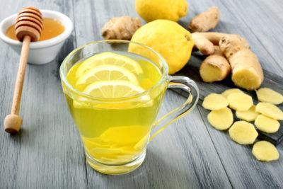 Жиросжигающий коктейль с имбирем и лимоном